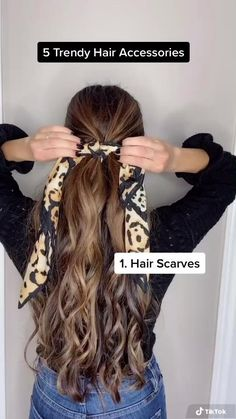 Hairstyle For Girls Video, Cute Hairstyles For Summer, Easy Hairstyles For Long Hair, Long Hair Cuts, Headband Hairstyles, Trendy Hairstyles, Girl Hairstyles, School Hairstyles, Very Long Hair