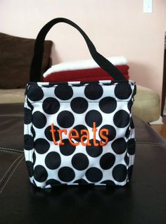 "Halloween ""Little's Carry All""-great for little hands to carry and you can empty it into mom or dad's bigger bag and continue down the trick or treat trail!"