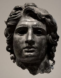 Head of Alexander the Great. Bronze. Greek or Roman. Late Hellenistic to Hadrianic, ca. 150 BC - AD 138. Private collection. Inv. No. L.2012...