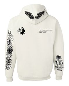 Justin Bieber body Tattoo women hooded sweatshirt - ALLNTRENDSHOP - 3