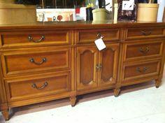 Vintage Console / Triple Dresser $165 - Lake Barrington http://furnishly.com/catalog/product/view/id/18032/s/vintage-console-triple-dresser/