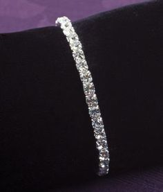 Austrian Crystal Stretch Bracelet