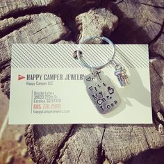 Happy Camper Keychains - Happy Camper LLC