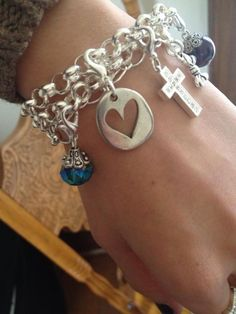 Wrap a Flat Oval Chain around your wrist and attach dangles for a instant charm bracelet.