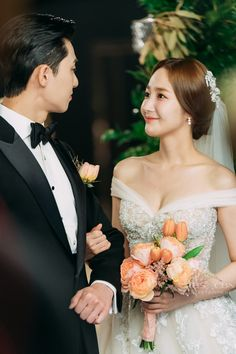 What's Wrong with Secretary Kim? Park Min Young, Korean Celebrities, Korean Actors, Movie Couples, Cute Couples, All Korean Drama, Young Wedding, Park Seo Joon, Lee Young