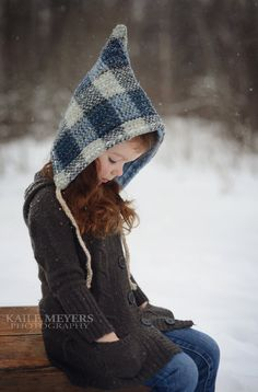 Pixie Hat PDF PATTERN Ladies & Teen Size by BigLittle on Etsy, $6.00