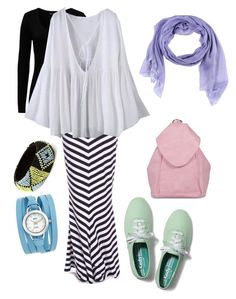 """All I Want is Monday"" by izzahhizboel on Polyvore featuring French Connection, Keds, Boohoo, Forever 21, Arte Cashmere and La Mer"