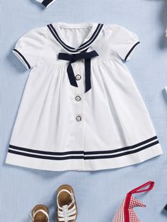 Nautical Dress Pattern - I love this - made one for my daughter years ago!