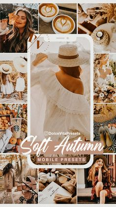 Soft Autumn, Camera Settings, Lightroom Presets, Mobile App, Color Schemes, Presents, Pictures, Instagram, R Color Palette