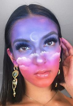 Rowi Singh Makeup Inspo, Pretty Face, Filters, Hair Beauty, Clouds, Boho, Instagram, Ideas, Bohemian
