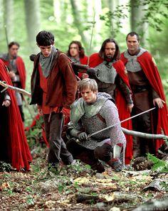 Arthur + Merlin + The Knights