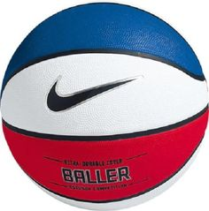 NIKE BASKETBALLL BALL | Nike Baller Basketball – Red / White / Blue