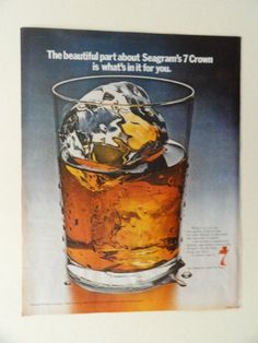 Seagram's seven Whiskey. 1970 full page print ad(big glas... http://www.amazon.com/dp/B0069W9ZTK/ref=cm_sw_r_pi_dp_WAFuxb1ZARFY3