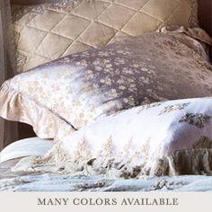 Bella Notte Pillow Sham Colette Satin Jacquard BNCOLSHAM