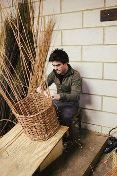 basket weaving -