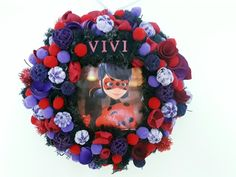 #noridekor #egyedi #dekoráció #ladybug Wreaths, Halloween, Home Decor, Decoration Home, Door Wreaths, Room Decor, Deco Mesh Wreaths, Home Interior Design, Floral Arrangements