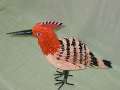 3D+Origami | 3D Origami - Hoopoe | Origami and PaperCraft – Origami Paper Club