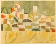Paul Klee - Architektur im Orient
