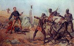 Shaka, el caudillo que convirtió al pequeño pueblo Zulú en un poderoso Imperio - Cuaderno de Historias