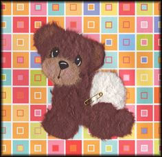 Baby Tear Bear w/ Diaper - Scrapbook.com