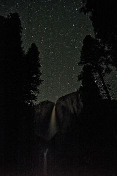 Yosemite Falls under the Stars http://patricialee.me