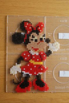 Minnie Mouse hama perler beads by Jeannet Stotefalk