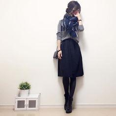 お返事前に失礼します! 後ほどゆっくりお返事させてください☺︎ #今日のコーデ です! カーディガンにフレアスカートを合わせて、ストールぐるぐる☺︎♪ cardigan#UNIQLO skirt#ur stole#lattice #handmadeaccessory#fashion#outfit#code#accessory#kurashiru#ponte_fashion#ハンドメイドアクセサリー#プチプラ#プチプラコーデ#シンプル#シンプルコーデ#コーデ#コーディネート#r_fashion #r_fashion_1#r_fashion_2#kaumo#gumania#locari#beaustagrammer#mineby3mootd#大人カジュアル#スナップミー