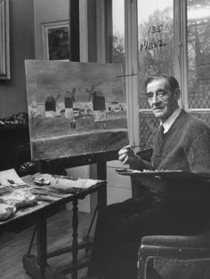 Maurice Utrillo is an example of an autodidactic artist, trained in the street and not in the museum. Description from delopr.com. I searched for this on bing.com/images