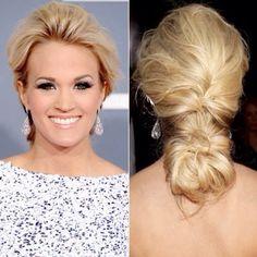 Carrie Underwood & low pony