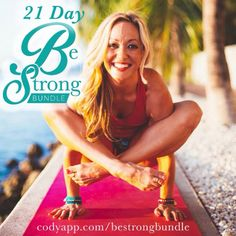 We're very excited to announce @kinoyoga's complete 21-day Be Strong Bundle! This bundle includes level I and level II of Be Strong, as well as a 21-day nutrition guide full of tips, recipes and advice to help inspire you to be your most-balanced self in every aspect of your life!  codyapp.com/bestrongbundle (link in bio)  Here is a beautiful story from @kinoyoga:  I was not naturally strong. I started at ground zero, but over the past 15 years I have built up my strength using this exact…