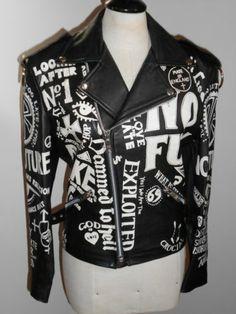 John Richmond Vintage Leather Destroy Jacket | eBay