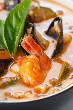 Cioppino #Recipe - San Francisco style seafood stew with white wine & tomato broth.