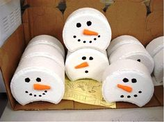 stackable snowman paver heads