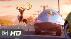 "CGI 3D Animated Short HD: ""Wildlife Crossing"" - by 3Bohemians"