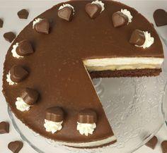 Milka-Herz-Torte für besondere Anlässe von Evas Backparty