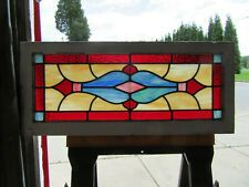 Transom Window Antique Stained Glass Windows For Sale Ebay With