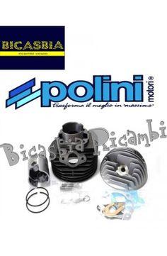 0822 CILINDRO POLINI 130 CC DM 57 VESPA 50 125 PK S XL