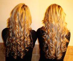 double Blonde curls