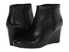 Clarks Rosepoint Bud Black Leather - Zappos.com Free Shipping BOTH Ways