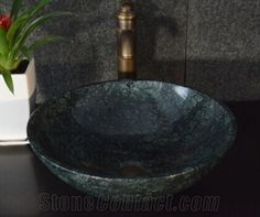 Best Natural Stone Wash Basin & Sink by Marble for Outdoor & Indoor,Dark Green Granite Water Wash Basin Sink Basin Sink, Picture Sizes, Granite, Natural Stones, Bathroom Ideas, Swimming Pools, Indoor Outdoor, Toilet, Bathrooms