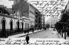 Berlin-Kreuzberg, Bergmannstraße Nahe Belle-Alliance-Straße um etwa 1900 by drggkkrueger, via Flickr