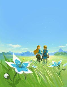See more 'The Legend of Zelda: Breath of the Wild' images on Know Your Meme! The Legend Of Zelda, Legend Of Zelda Breath, Breath Of The Wild, Image Zelda, Fan Art, Princesa Zelda, Botw Zelda, Hyrule Warriors, Link Zelda