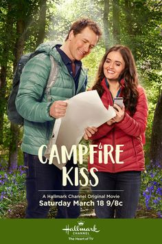 "Its a Wonderful Movie - Your Guide to Family and Christmas Movies on TV: ""Campfire Kiss"" - a Hallmark Channel Original Movie starring Danica McKellar & Paul Greene!"