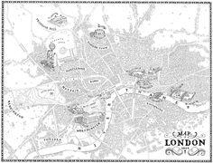 Regency London Map - Kelly Murphy