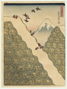 [ Fuji the Beneficent by Katsushika Hokusai ]