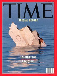 Time Magazine - TWA Flight 800 July 29 1996 Time Magazine