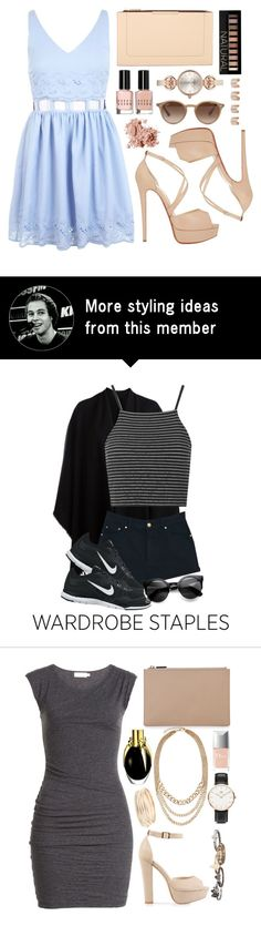 """Summer Style: Cutout Skater Dress"" by akvile-horan on Polyvore"