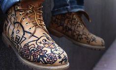 Yellow Boots Customizadas: faça também a sua!