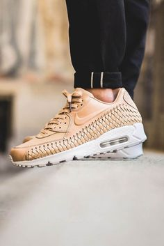 best authentic c77a8 39365 NIKE Air Max 90 Woven Tan