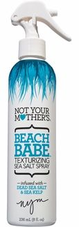 Haven't tried it yet, but it's supposed to be amazing... Not Your Mother's Beach Babe - Texturizing Sea Salt Spray